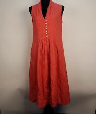 April Conwell size S Peach dress with pockets