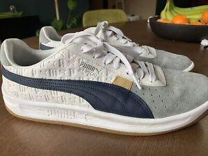 Puma GV Special + LUX 368151 Quarry / Peacoat-Mustard Sz 13 Shoes