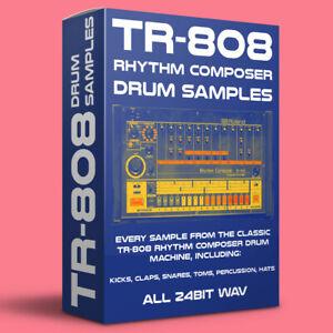ROLAND TR-808 Drum Machine Samples 24bit WAV