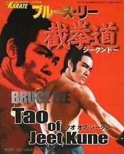 BRUCE LEE BOOK Bruce Lee Jeet Kune Do Tao of Jeet Kune Do 2000 Fumiyasu Nakamura