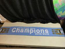 "Barclays Premier League Champions 2013/2014 MCFC Manchester City Scarf 57"" x 8"""