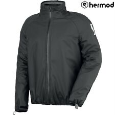 Scott Ergonomic Pro Rain Waterproof Motorbike Motorcycle Over Jacket - Black