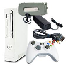 360 Xbox consola Falcon 14,2a Fat Weiss #2 + 20 GB + 3-cinch gris + controlador