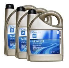 Original GM Opel huiles de vidange huile longue durée dexos2 5w-30 5w30 1942003 15 L => 3x5l