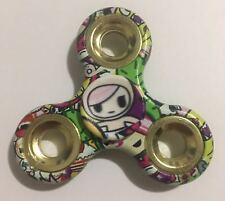 Tri Fidget Spinner Plastic Handheld Toy (girl cartoon)