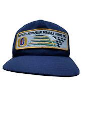 Vintage Foster's Beer Australian Formula 1 Grand Prix Patch Snapback Cap Hat