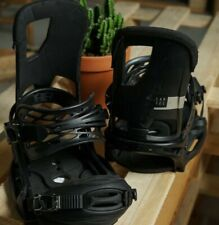 Mens Burton Cartel EST Snowboard Bindings Medium Black