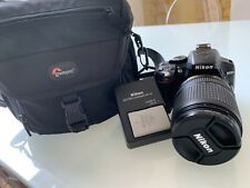 Nikon D5300 DSLR IN OTTIME CONDIZIONI basso utilizzo con lente 18-140 mm + extra