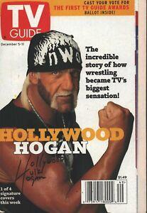 TV Guide - Dec 5, 1998 - Hulk Hogan - Houdini - Kevin Newman: Good Morning Ameri