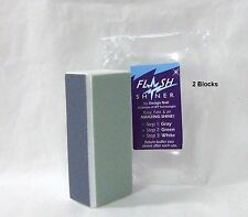 Design Nail FLASH SHINER 3 Way Shiny Block  ~2 ct ~