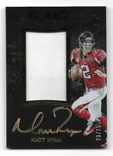 MATT RYAN 2016 Panini Black Gold AUTOGRAPH JERSEY CARD  #AJ-MR  20/25