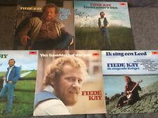 Fiede Kay [5x Vinyl LP] Kien egen Leed + Leeder + Vier Gesichter +.../ Friesisch