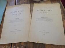 1907.église et curés de Minot (cote d'or Bourgogne.Georges Potey (envoi + lettre