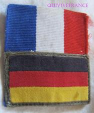IN13869 - INSIGNE TISSU PATCH brigade franco-allemande