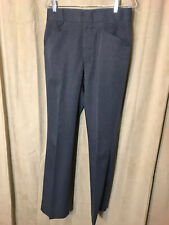Mens Vintage 1980s Kenny Rogers Circle S Western Pants Size 32-33 Gray Polyester