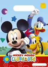 Disney Mickey Mouse Clubhouse Party Bags X 6