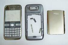 Full Silver Housing cover fascia facia faceplate case for Nokia E72