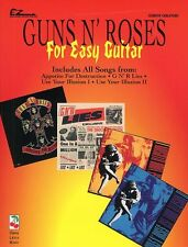 Guns n'roses pour easy guitar with tablature et riffs jouer tab music book rock