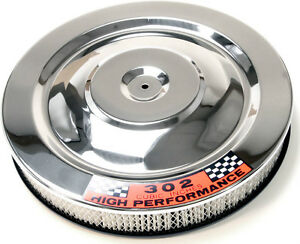 Ford Chrome Air Cleaner Mustang 1965 1966 Shelby Cobra 427 64 65 66 289 AC 260