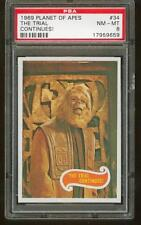 1969 Topps Planet of the Apes #34 The Trial Continues! Psa 8 Nm/Mt tough!