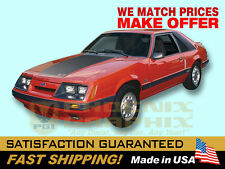 1985 1986 Mustang GT Decals & Stripes Kit