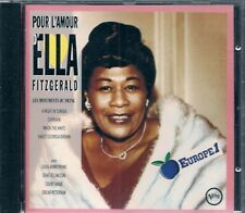 CD COMPIL 16 TITRES--ELLA FITZGERALD--POUR L'AMOUR...