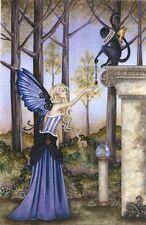 Amy Brown Fairy Faery Fantasy Art Print The Locket Flying Monkey Winged New