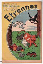 Catalogue Étrennes  TALLANDIER 1951. Couverture Benjamin RABIER. Superbe !