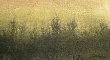 Ferdinand springer 1907-1998 grasse/aquarelle & carte de voeux/imaginaire paysage