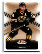 (HCW) 2015-16 Fleer Showcase #17 Patrice Bergeron Bruins NHL Mint