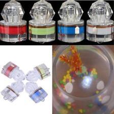 LED Drop In Underwater Diamond Flash Fishing Light Squid Strobe Bait Lure