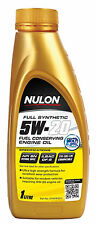 Box Of 6 Nulon Full Synthetic 5W20 Fuel Conserving Engine Oil 1L SYN5W20-1