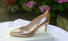 L.K. Bennett Slim 100% Leather Upper Shoes for Women