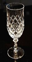 Beautiful Czech Crystal Champagne Glass