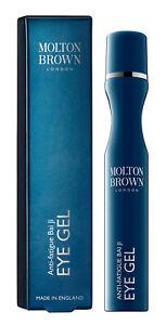 Molton Brown Bai Ji Anti-Fatigue Rollerball EYE GEL Tired Eyes 15ml Boxed/Sealed