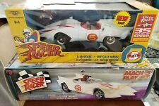 American Muscle Speed Racer & ReSaurus Mach 5 Playset w/figures Spridle Chim