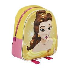 BEAUTY AND THE BEAST school backpack 3D with crystals High Quality Fast Shipping