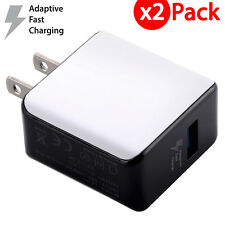 2x Original Samsung Galaxy S6 S7 Edge Adaptive FAST Charging Rapid Wall Charger