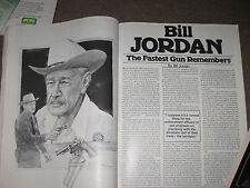 SHOOTING TIMES 25th ANNIVERSITY ISSUE, BILL JORDAN REMEMBERS