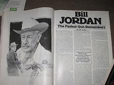 SHOOTING TIMES 25th ANNIVERSITY ISSUE, BILL JORDAN REMEMBERS