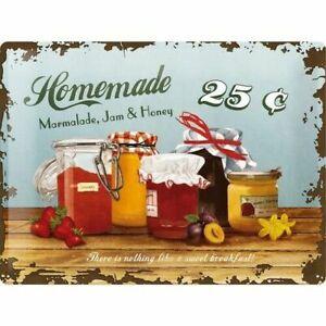 Nostalgic Art Tin Sign Homemade Homemade Jam Jelly at home Orig. Packaging