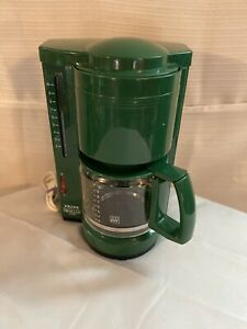 KRUPS Gevalia Green Coffee Maker Type 396 Automatic Coffee Maker 10 Cup