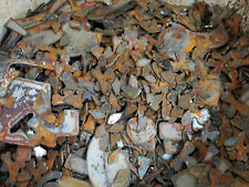 Lot of Misc Scrap Shapes Rusty Vintage Metal Craft Sign .25