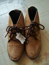 LIKE NEW-CIAO! WOMEN 6 SPORT OXFORDS CASUAL LEATHER WALKING SHOES - SHIP FREE
