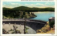 Quanah Parker Dam, Wichita Mountains, Oklahoma - Postcard (N1)