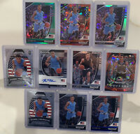 RJ Hampton 10 Card Rookie Auto Lot 2020 Panini Prizm Draft Picks Disco Cracked