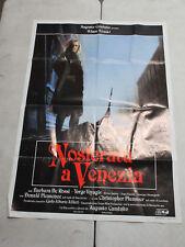Nosferatu In Venice (1988) Italian 2 Fogli 39x55 CHRIS PLUMMER, KLAUS KINSKI !!!