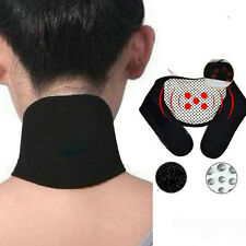 Tourmaline Therapy Self-Heating Health Neck Brace Support Strap Pain Relief New