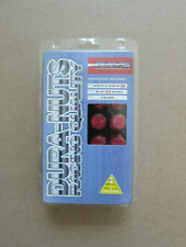 VOLK RACING / RAYS 50MM Extended Type Lug Nuts  12X1.25  ACORN Type Red Color