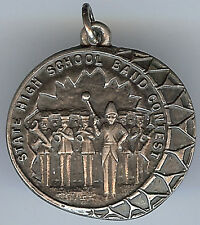 VINTAGE DE KALB ILLINOIS 1931 STERLING MARCHING BAND HIGH SCHOOL CONTEST CHARM